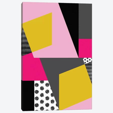 Geometric XIII Canvas Print #PAZ30} by Susana Paz Art Print