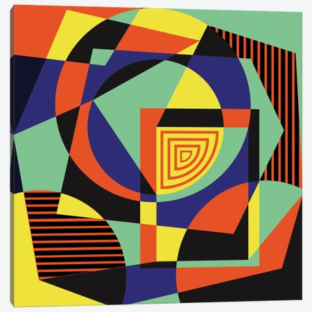 Geometric XIV Canvas Print #PAZ31} by Susana Paz Canvas Print