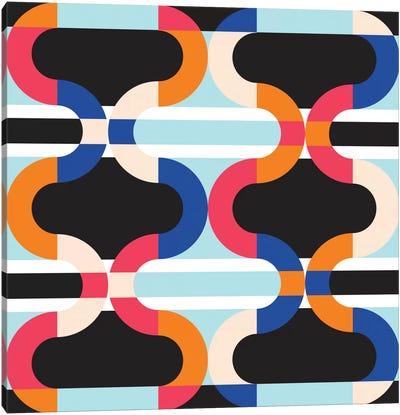 Geometric XVII Canvas Art Print