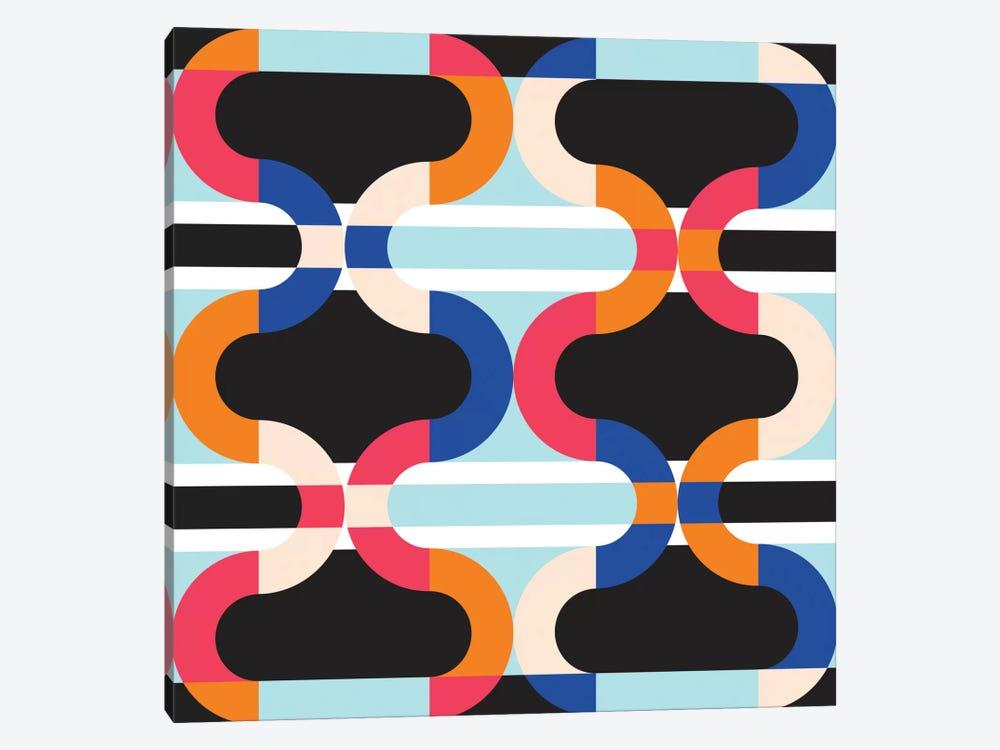 Geometric XVII by Susana Paz 1-piece Canvas Art
