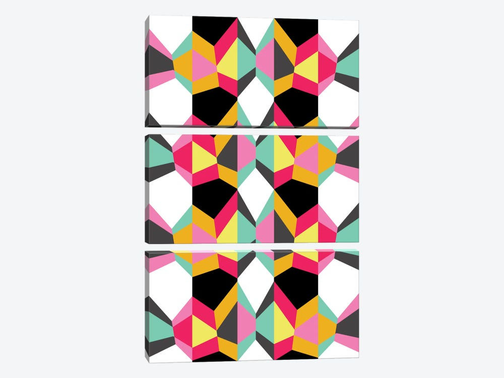 Geometric XVIII by Susana Paz 3-piece Art Print