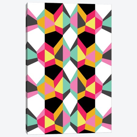 Geometric XVIII 3-Piece Canvas #PAZ33} by Susana Paz Canvas Print