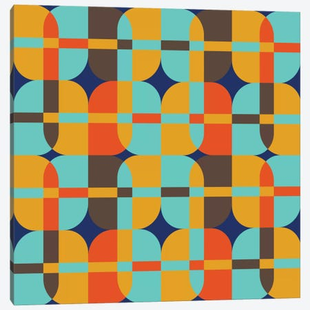 Geometric XX Canvas Print #PAZ35} by Susana Paz Canvas Artwork