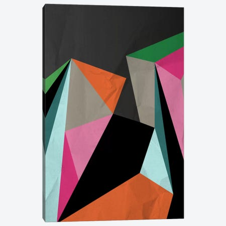 Geometric XXI Canvas Print #PAZ36} by Susana Paz Canvas Artwork
