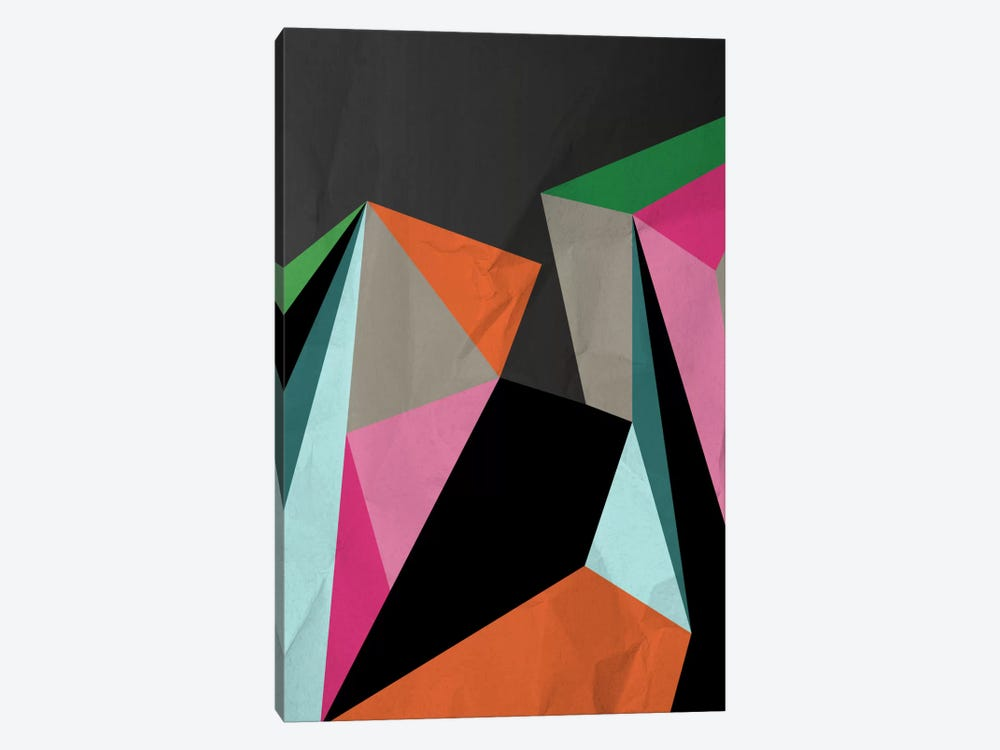 Geometric XXI by Susana Paz 1-piece Canvas Artwork