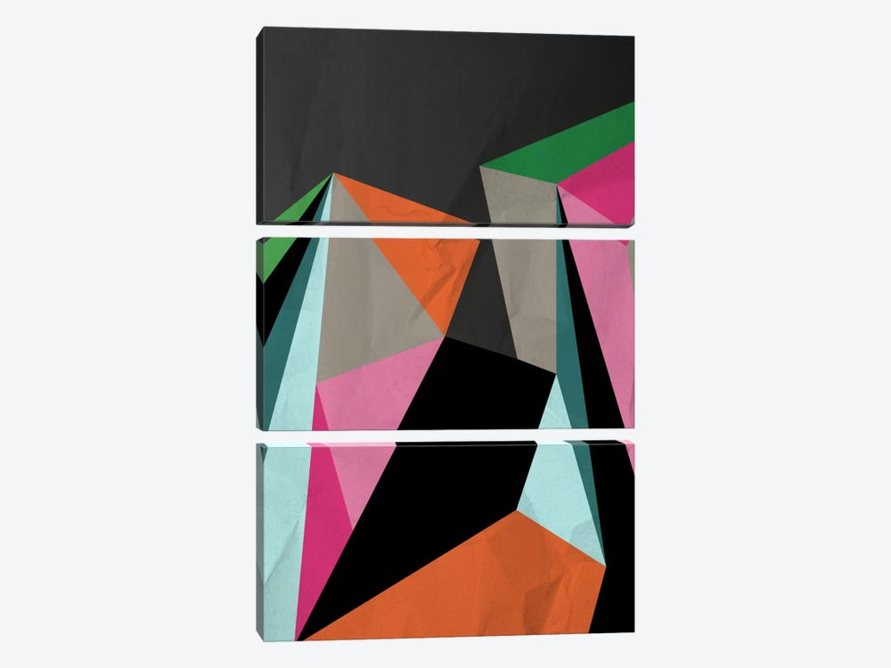 Geometric XXI by Susana Paz 3-piece Canvas Art