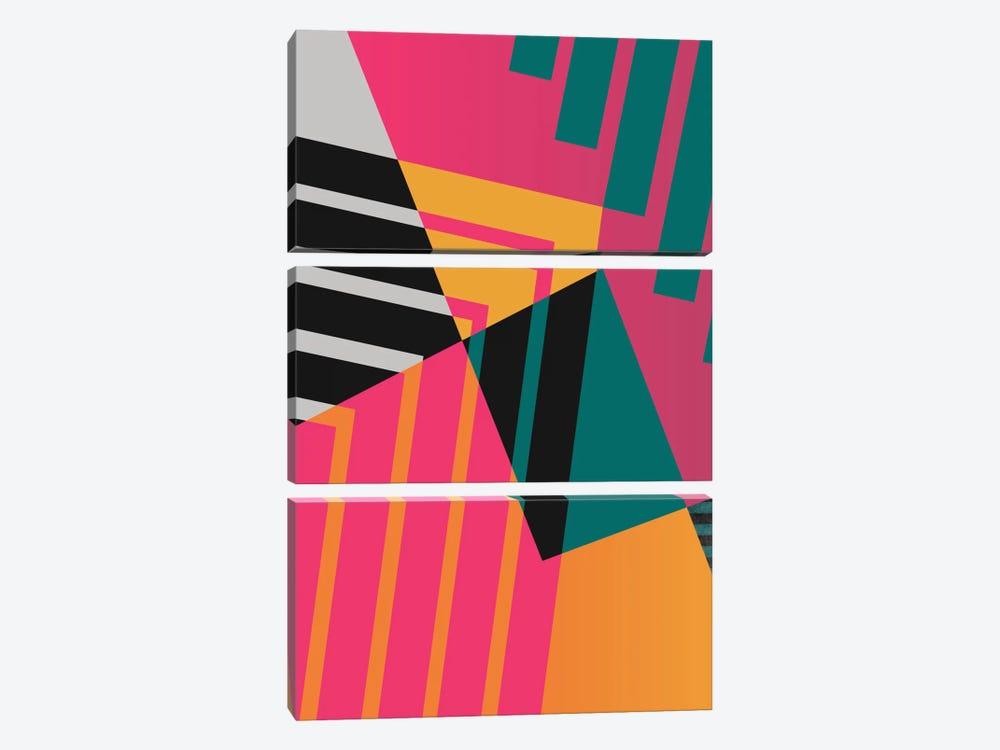 Geometric XXIII by Susana Paz 3-piece Canvas Print