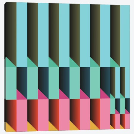 Geometric XXVI Canvas Print #PAZ39} by Susana Paz Canvas Print