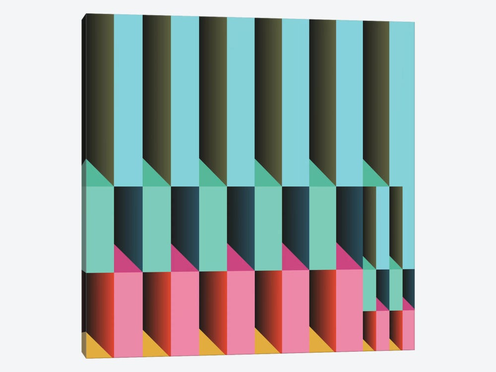 Geometric XXVI by Susana Paz 1-piece Canvas Print