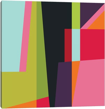 Geometric XXVIII Canvas Art Print
