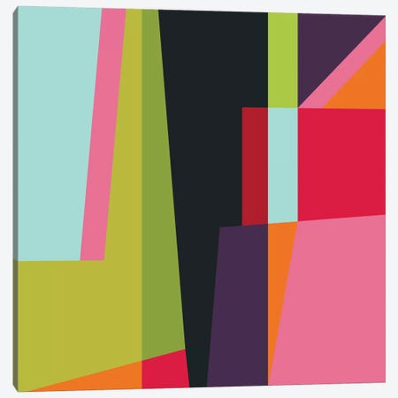 Geometric XXVIII Canvas Print #PAZ40} by Susana Paz Canvas Artwork