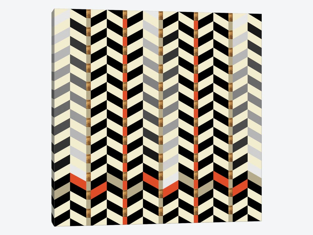 Geometric XXIX by Susana Paz 1-piece Canvas Wall Art