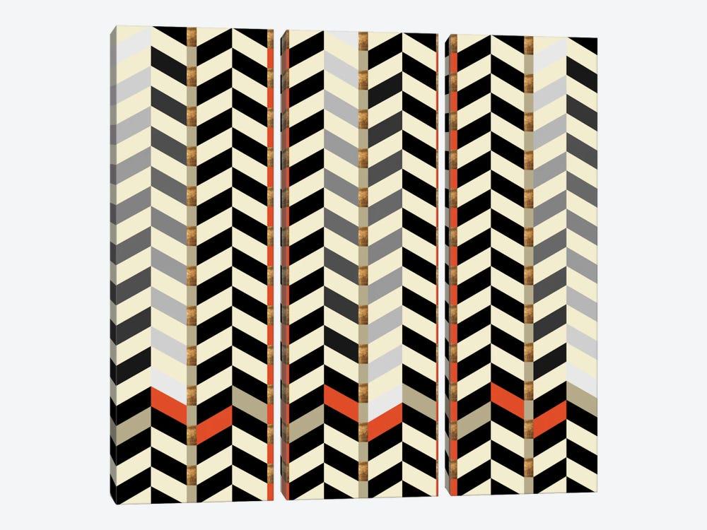 Geometric XXIX by Susana Paz 3-piece Canvas Artwork