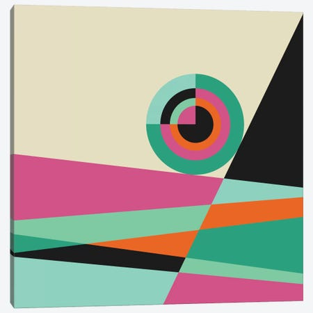 Geometric XXX Canvas Print #PAZ42} by Susana Paz Canvas Wall Art