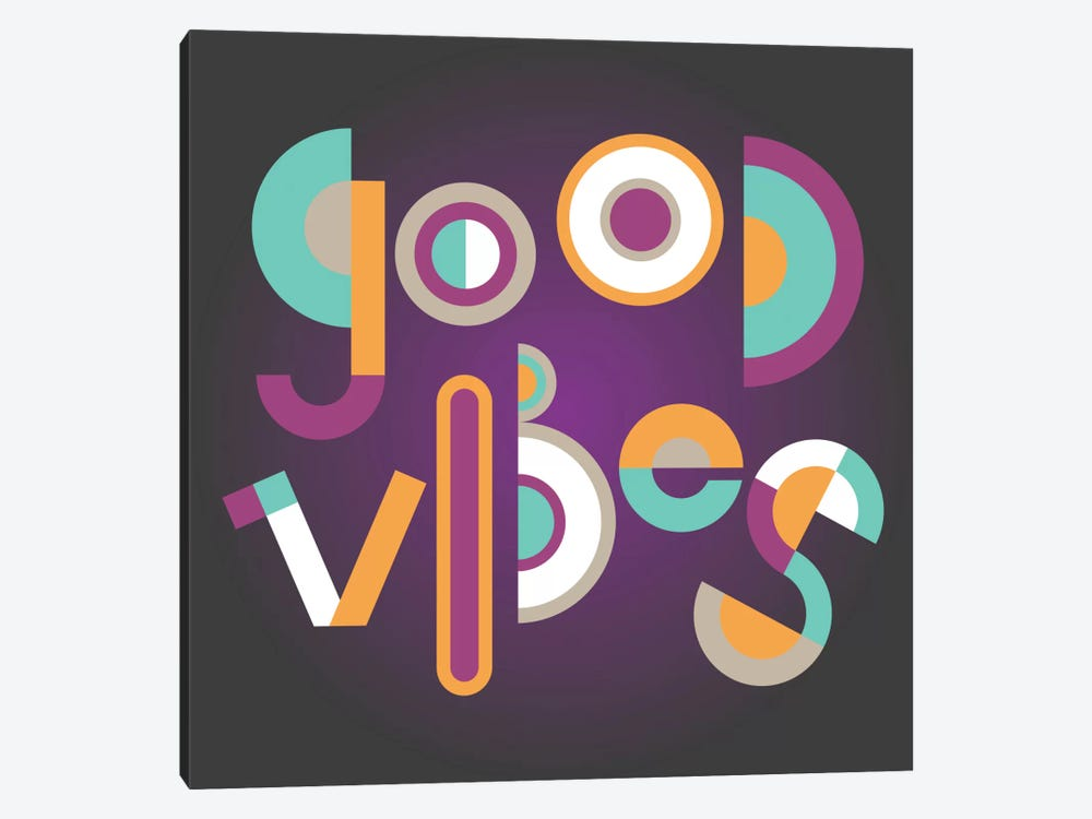 Good Vibes by Susana Paz 1-piece Canvas Wall Art
