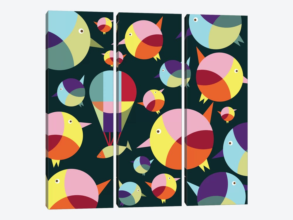 I Can Fly by Susana Paz 3-piece Canvas Print