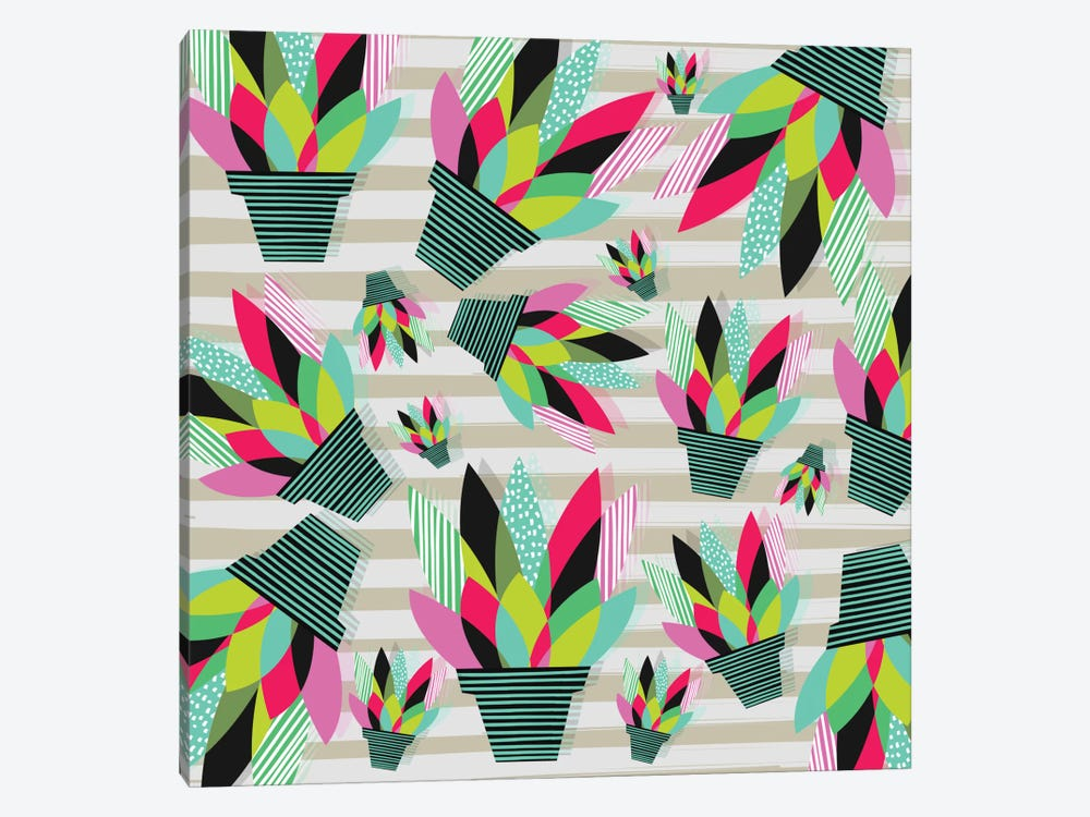 Joyful Plants II by Susana Paz 1-piece Canvas Wall Art