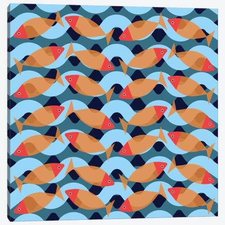 Aquarium Canvas Print #PAZ4} by Susana Paz Art Print
