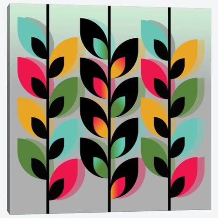 Joyful Plants III Canvas Print #PAZ50} by Susana Paz Canvas Art Print