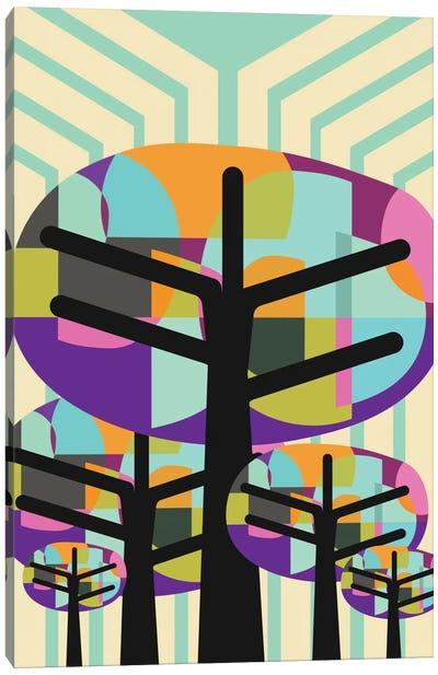 Joyful Trees Canvas Art Print