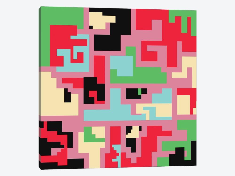 Kind Of Tetris by Susana Paz 1-piece Canvas Art