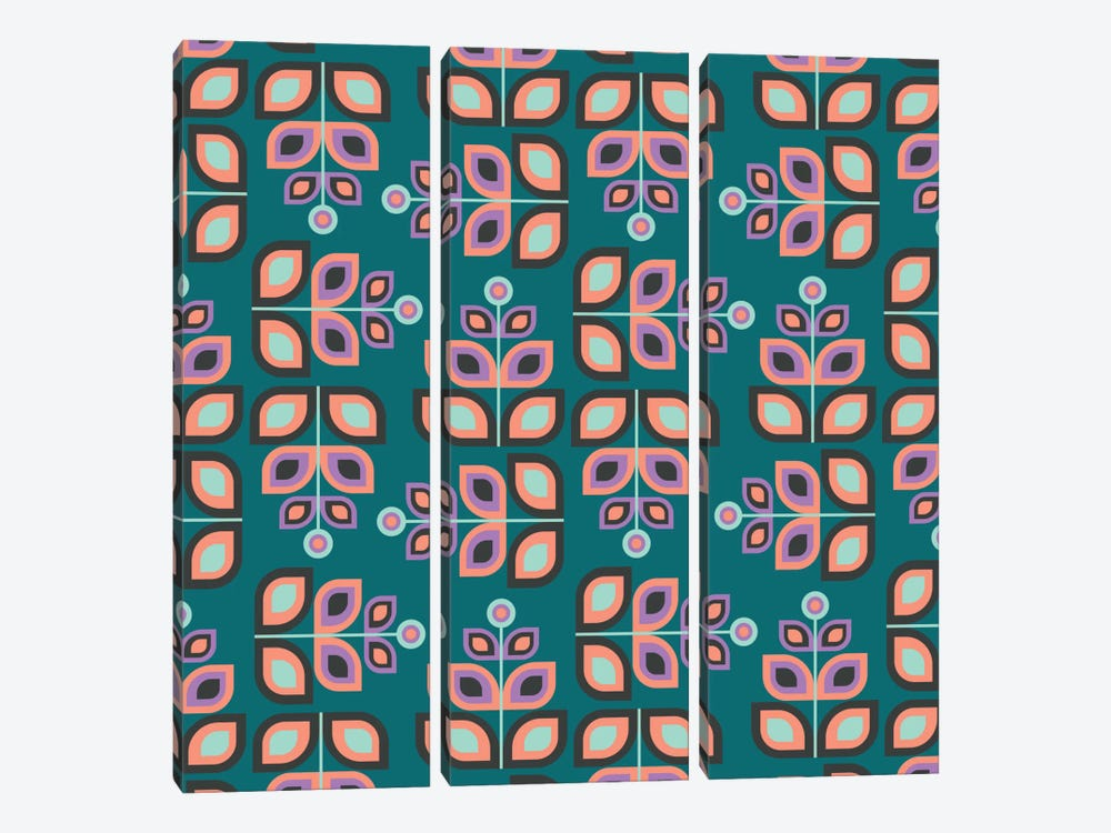 May Flowers by Susana Paz 3-piece Canvas Artwork