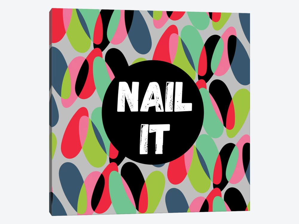 Nail It 1-piece Art Print