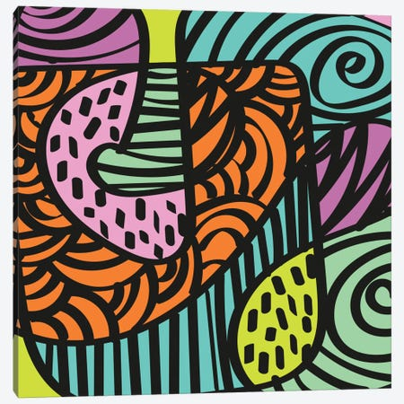 Naïve I Canvas Print #PAZ56} by Susana Paz Canvas Art