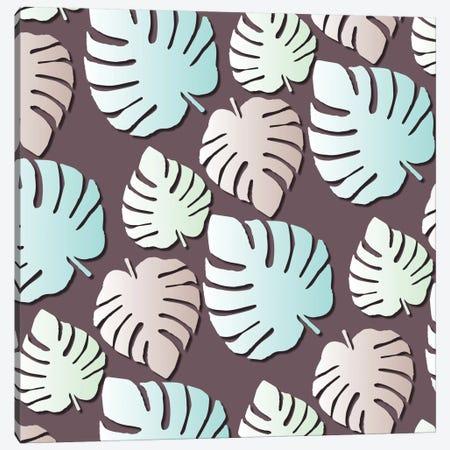 Palm Leaves Canvas Print #PAZ66} by Susana Paz Art Print