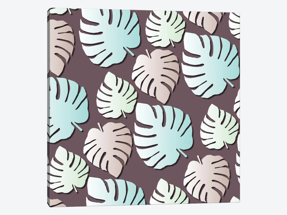 Palm Leaves by Susana Paz 1-piece Canvas Print