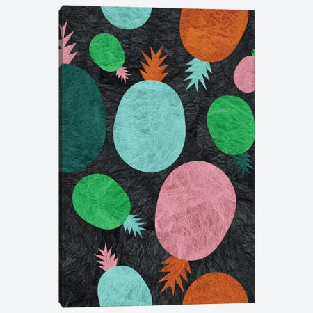Paper Pineapple Canvas Print #PAZ67} by Susana Paz Canvas Art Print
