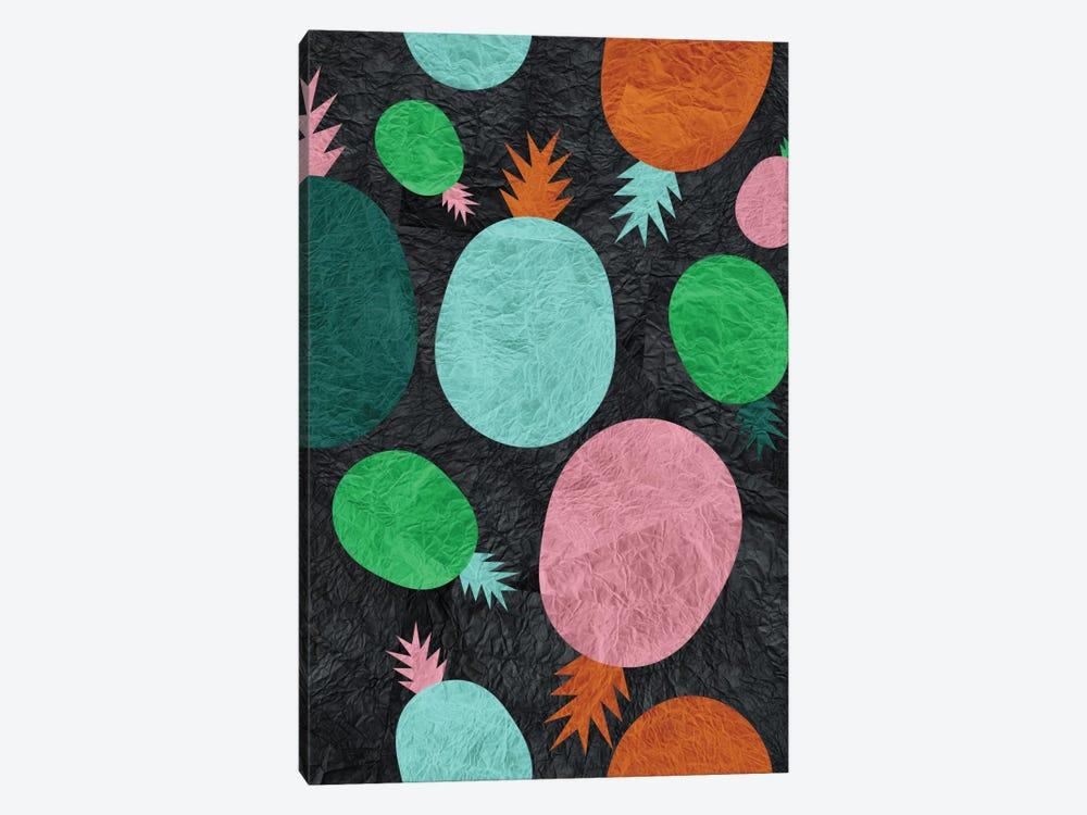 Paper Pineapple by Susana Paz 1-piece Canvas Artwork