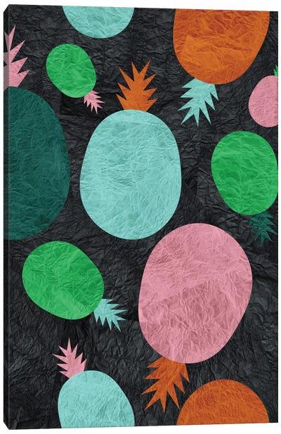 Paper Pineapple Canvas Print #PAZ67