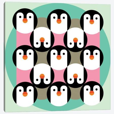 PenguinGame Canvas Print #PAZ68} by Susana Paz Canvas Artwork
