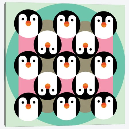 PenguinGame Canvas Print #PAZ68} by Susana Paz Canvas Artwork