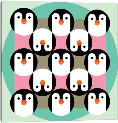 PenguinGame Canvas Art Print