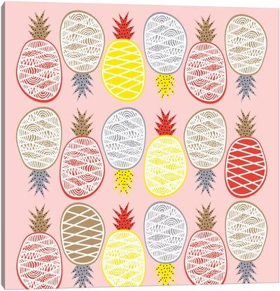 Pineapple I Canvas Print #PAZ69