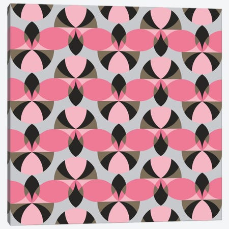 Pinky Pattern Canvas Print #PAZ70} by Susana Paz Canvas Art Print