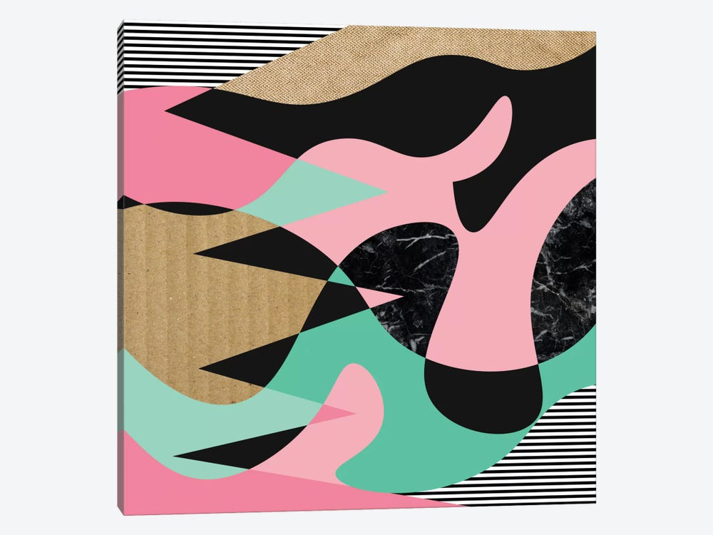 Shapes, Lines & Textures by Susana Paz 1-piece Canvas Wall Art