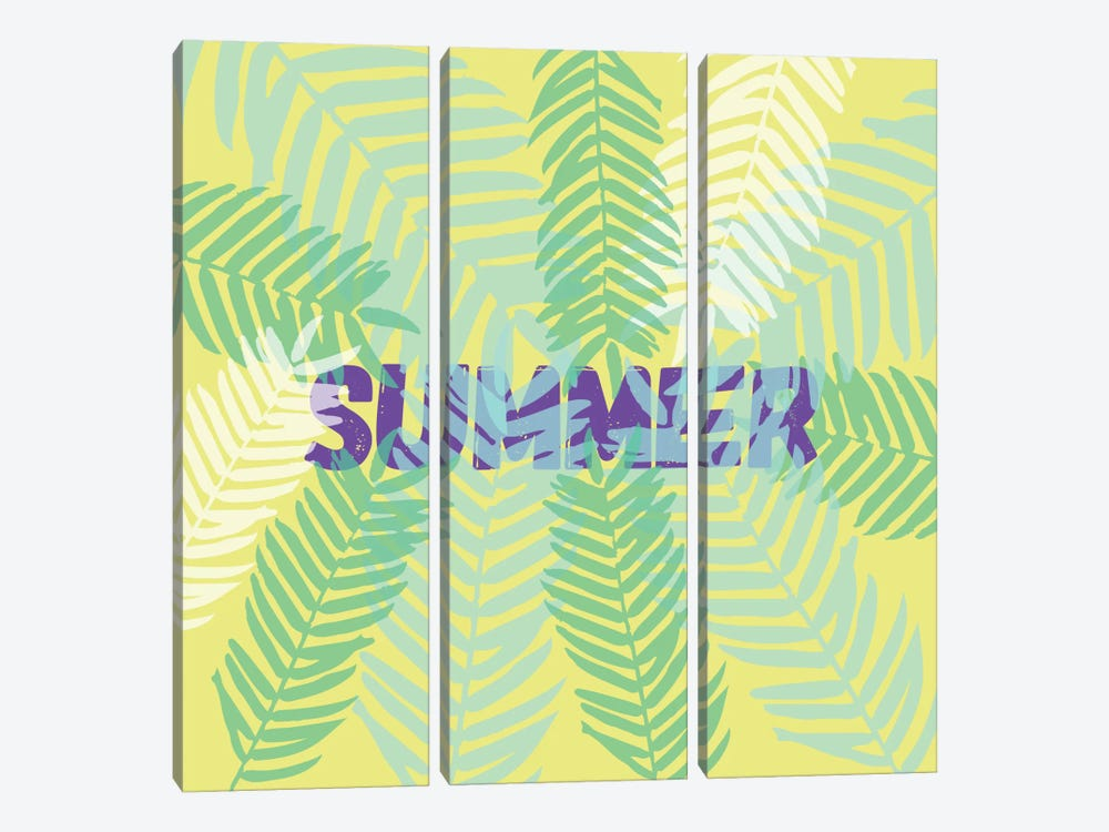 Summertime by Susana Paz 3-piece Canvas Artwork