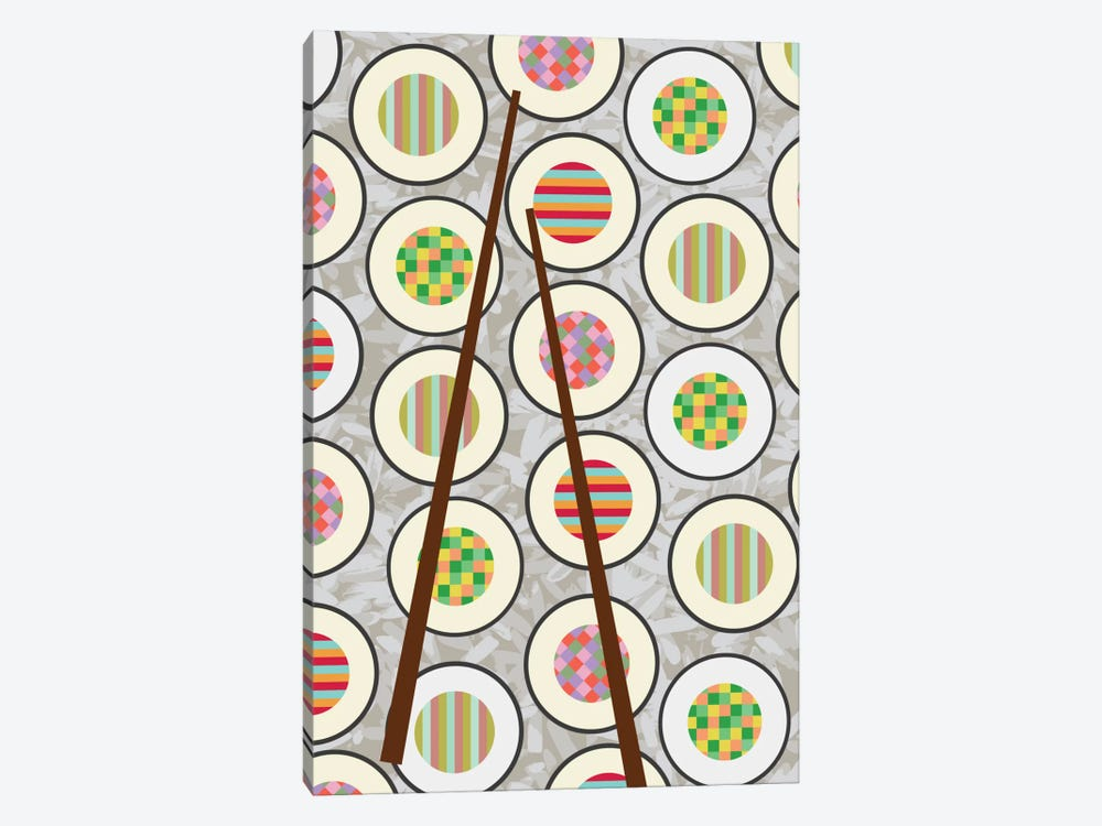 Sushi Time by Susana Paz 1-piece Canvas Print