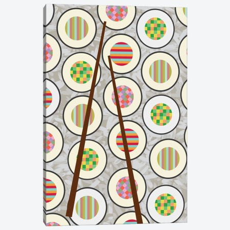 Sushi Time Canvas Print #PAZ82} by Susana Paz Canvas Wall Art