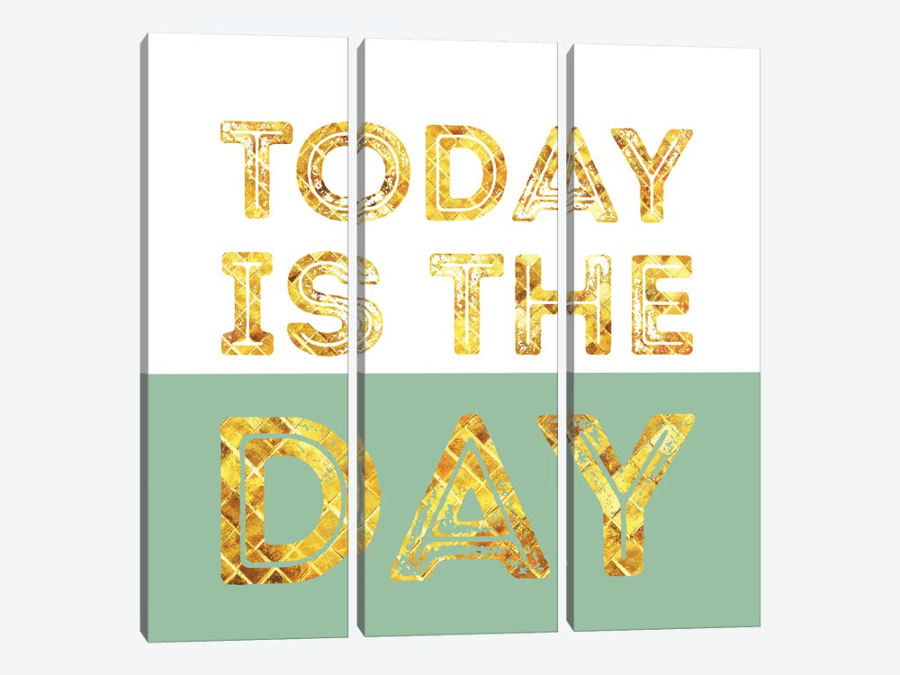 Today Is The Day by Susana Paz 3-piece Canvas Print