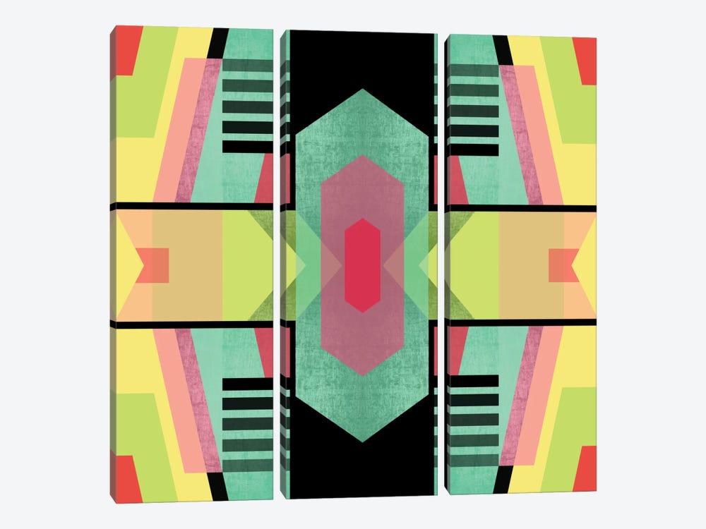 Tribal II by Susana Paz 3-piece Art Print