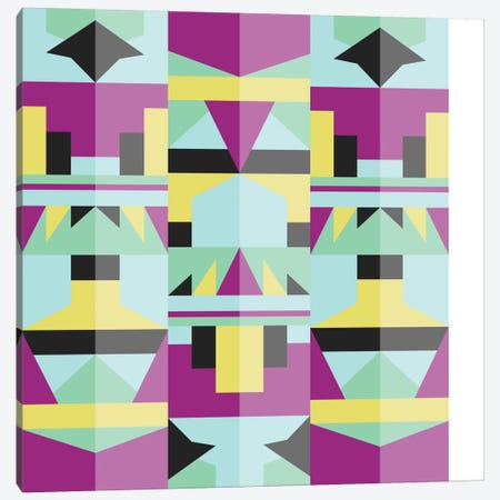 Tribal IV Canvas Print #PAZ90} by Susana Paz Art Print