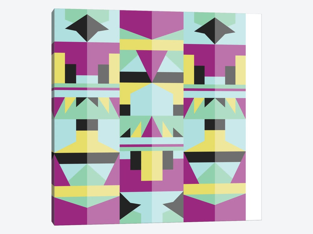 Tribal IV by Susana Paz 1-piece Canvas Artwork