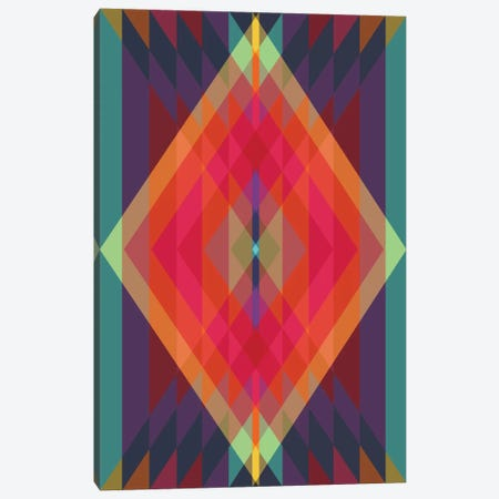 Tribal VIII Canvas Print #PAZ92} by Susana Paz Canvas Print