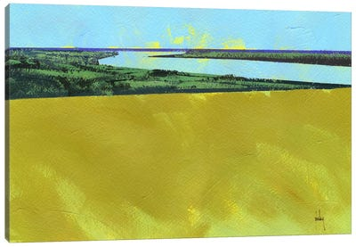Crouch Valley Canvas Art Print