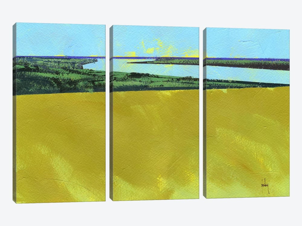 Crouch Valley by Paul Bailey 3-piece Canvas Print