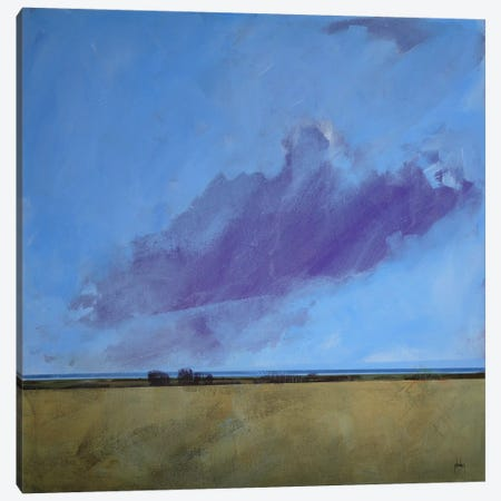 Distant River Canvas Print #PBA12} by Paul Bailey Canvas Art